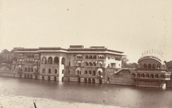 [Rear view of the Gopal Bhavan] Palace at Deeg near Bhurtpur.